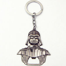 Star Wars Darth Vader Figurine Pewter color Keychain bottle opener collectible