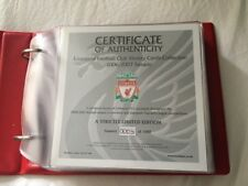 LIVERPOOL FC VICTORY CARDS - Official LFC Victory Card Collection 2006/7 Season
