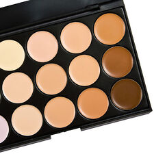15 Color Cosmetic Makeup Concealer Face Cream Care Camouflage Palettes WFAU