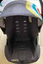 Cosatto Hold Car seat - Seat Fabric Shell Cover In Grey Design