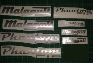 Malaguti Phantom F12  Decals/Stickers ALL COLOURS AVAILABLE