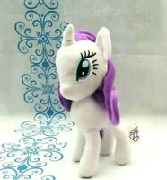 Hasbro Rarity White Purple Unicorn My Little Pony Soft Plush Toy 2017 23CM Tall