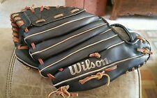 Vintage 1991-1993 Wilson Baseball Glove A2681 Major League Split Hinge Blackgold