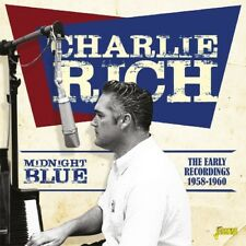 Midnight Blue: Early Recordings 1958-1960 * by Charlie Rich (CD, Apr-2017, Jasmine Records)