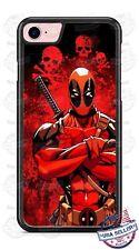Deadpool Skulls Design Phone Case Cover fits iPhone Samsung Google LG etc.
