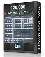 135,000 NI Massive Presets Pack - Ableton, Cubase, Logic, FL Studio, Bitwig