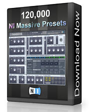 120,400 NI Massive Presets Pack - Ableton, Cubase, Logic, FL Studio, Bitwig