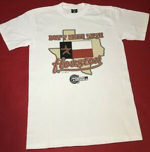 NOS! MLB Houston Astros 2005 World Series Don't Mess With Houston T - Shirt M