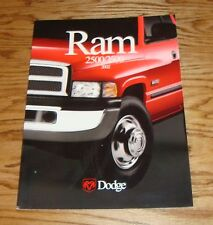 Original 2002 Dodge Truck Ram 2500 / 3500 Deluxe Sales Brochure 02