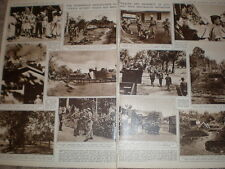 Photo article Dutch police in Java trouble with Indonesia 1947