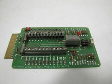 MONARCH CORTLAND MILLING MACHINE N360 PADDLE CIRCUIT BOARD CARD E61199