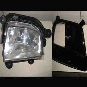 RH Passenger Fog Light Lamp Assembly & RH Fog Cover 2p For 11 12 Kia Forte Koup