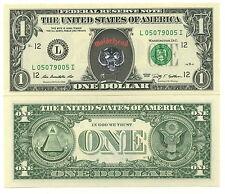 MOTORHEAD ! VRAI BILLET de 1 DOLLAR US ! Collection HEAVY METAL HARD ROCK LEMMY