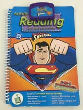 Leap Frog Leap Pad Reading Comic Book Superman Book and Cartridge Set