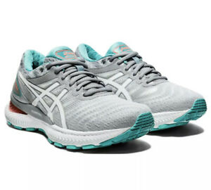 Asics Gel Nimbus 22 Womens Sheet Rock White Running Train 1012A587-020 Size 11