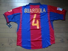 FC Barcelona #4 Guardiola 100% Original 1999 Centenary Jersey Shirt L Still BNWT