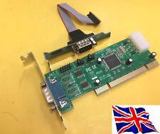 Rs232 2 PORTE SCHEDA PCI SERIALE 16c1050 LP a basso profilo