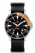 Hamilton H82305931 Black 40mm Stainless-Steel Khaki Navy Scuba Auto Mens Watch