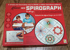 Vintage 1967 Kenner SPIROGRAPH No. 401 Great Condition! Original Paper & Booklet