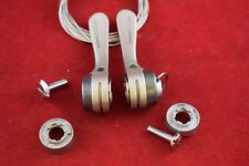 Shimano 105 shifter lever set sl-1056 down tube index/friction 8sp braze on NOS