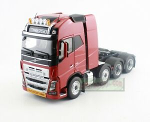 1/32 Scale MARGE MODELS VOLVO FH 16 8x4 Truck 750 Diecast Red