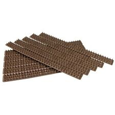 10Pc Brown Wall Fence Spikes Anti Climb Security Cat Bird Repellent Deterrent BN
