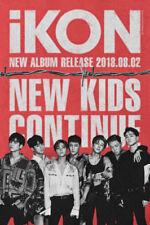 iKON-[New Kids Continue] Album Random Ver CD+Booklet+PhotoCard KPOP TRACKING NUM