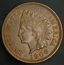 1906 Indian Head Cent Nice Vintage Penny! GC060