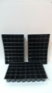 MULTI CELL 40 CELL PLASTIC PLANT SEED TRAY INSERTS TOP QUALITY NEW