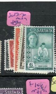 SARAWAK  (P2204B)  KGVI 1C-6C  SG 171-6    MOG