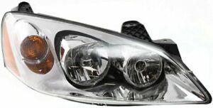Headlight For 2005-2010 Pontiac G6 Passenger Side w/ bulb