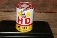 Vtg PENN DRAKE HD Motor Oil 1 Quart Oil Can Tin Pennsylvania Refining Co. Full