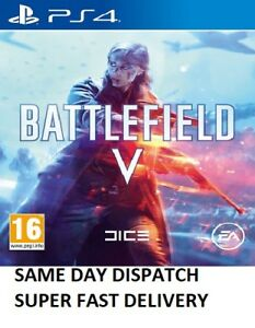 Battlefield V 5 PS4 & PS5 MINT Same Day Dispatch via Super Fast Delivery