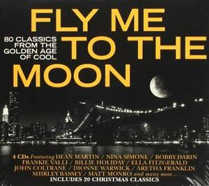 FLY ME TO THE MOON (2018) 80-track 4-CD digipak NEW/SEALED Dean Martin