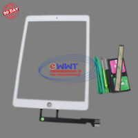 FREE SHIP for iPad-Pro 9.7 2016 A1674 White Touch Screen Digitizer +Tool ZVLU734