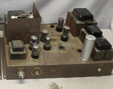 New listing 1950's Schulmerich Carillons Model 170 Tube Power Amp Amplifier
