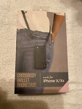 iPhone X / Xs  Fellowes Crossbody Wallet  Phone Case New In Box