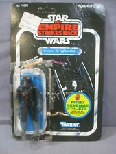 Star Wars IMPERIAL TIE FIGHTER PILOT Complete + Carback 1982 Empire Stirkes Back
