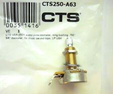 """3//8/""""/"""" Durchm. Pickg linear kurzer Schaft .250/""""/"""" CTS 250K Poti FE-style back"""