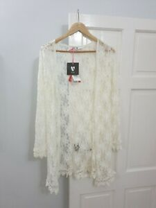 Ladies Very lace summer cardigan BNWT size 12