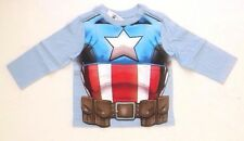 Marvel Captain America Toddler Long Sleeve T-Shirt Sweatshirt Size 2T NWT