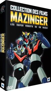 ★ Mazinger ★ Collection des films - Coffret 2 DVD