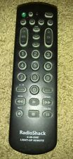 Black Radio Shack 15-1992 Family Favorites 4-In-One light-up remote control