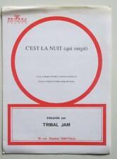 Partition sheet music TRIBAL JAM : C'est la Nuit (Qui Surgit) * 90's N'Tumba