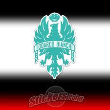 Adesivo BIANCHI colore AZZURRO logo sticker pegatina bici bike aquila eagle