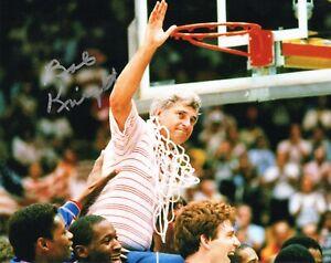 Indiana Hoosiers Bob Knight Signed 8x10 Photo COA