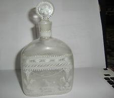 19th Century Continental Enamel decorated Spirit Flask/Decanter