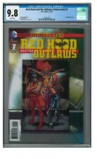 Red Hood and the Outlaws: Futures End #1 (2014) 3-D Lenticular CGC 9.8 GG452