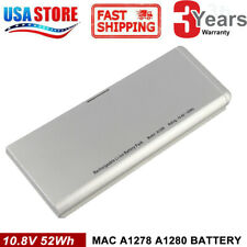 "Laptop A1280 Battery for Apple MacBook 13"" A1278 Late 2008 MB466LL/A MB467LL/A"
