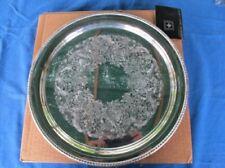 "VINTAGE INTERNATIONAL SILVER Co.ROGERS 12 3/8"" Silverplate Tray  w/OB #4371"